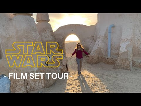 EXPLORING the STAR WARS SET - MOS ESPA TUNISIA - travel vlog