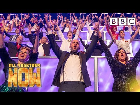 100 judges. 10 finalists. 1 UPLIFTING song ????‍????‍???? - BBC All Together Now ????