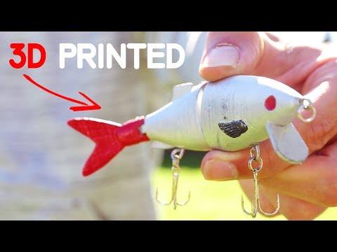 3D Printed Swimbait Fishing Lure - Will It Work?