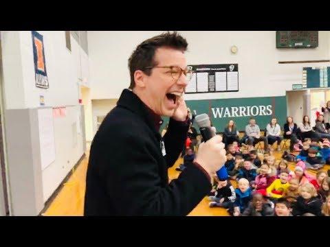 PLUM Book Tour - Winston Campus Elementary School (Palatine, IL) - 11/28/2018