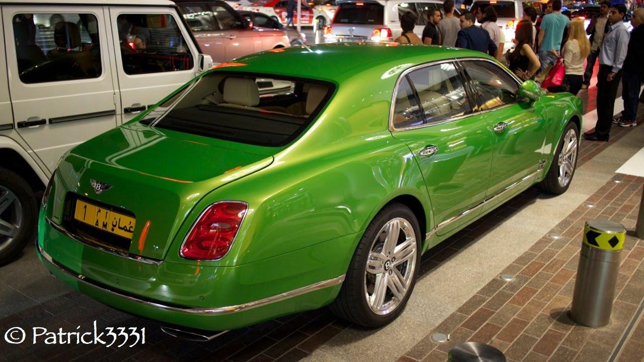 Bentley Muslanne in Apple Green - YouTube