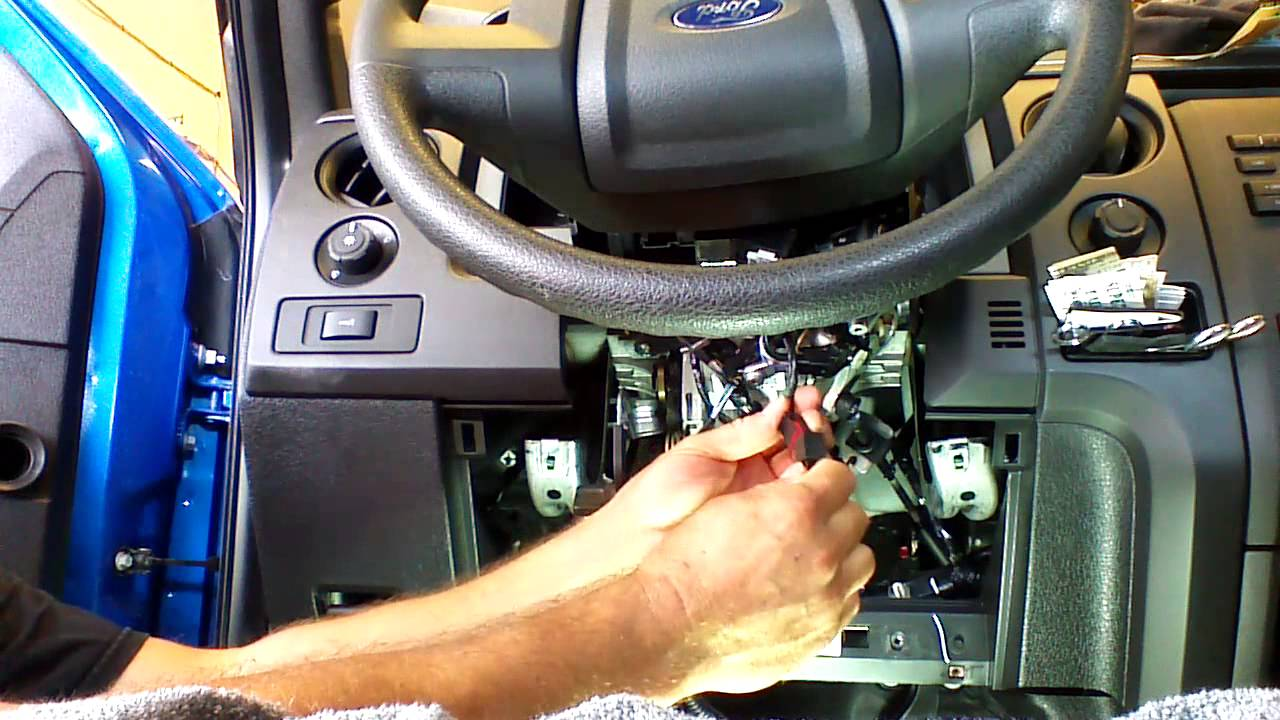 Plug And Play Remote Start Installation 2011 2014 Ford F150 F250 Mustang Starter Youtube Premium