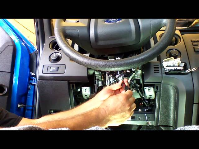 Plug and Play Remote Start Installation 2011-2014 Ford F150, F250, F350, F450