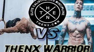 CHRIS HERIA vs OSVALDO LUGONES THENX WARRIOR [street workout motivation 2017]