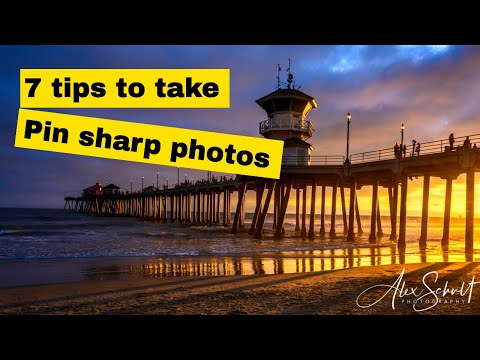 How to Take Sharp Landscape Photos