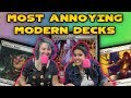The Top 10 MOST ANNOYING Modern Decks | Magic the Gathering MtG