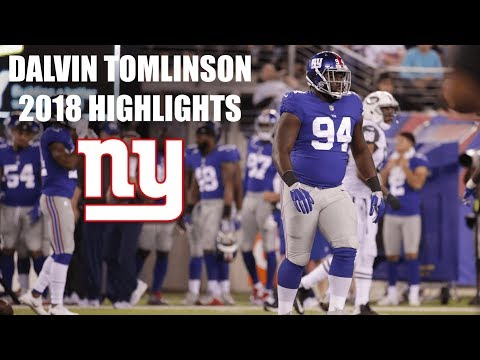 Dalvin Tomlinson 2018 Highlights DT #94