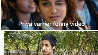 Priya Prakash Varrier Funny Video