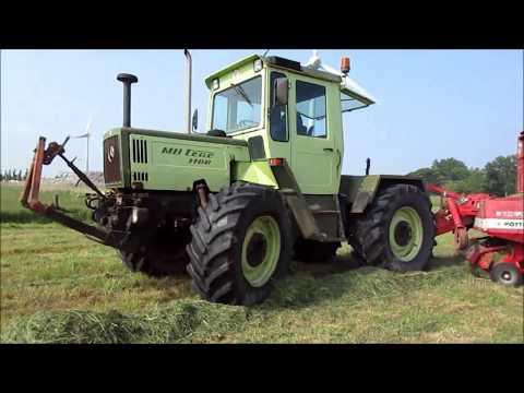 MB-Trac 1100 (110 PS) Einsatz (Sound)!!!