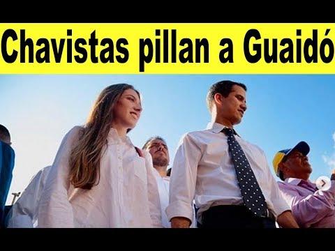 Chavistas destapan olla Guaidó y esposa + Noticias Venezuela domingo 21 abril, Noticias de Venezuela