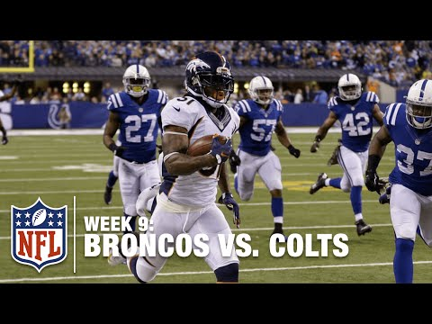 Omar Bolden Takes It to the House, Last Play of the Half! | Broncos vs. Colts | NFL