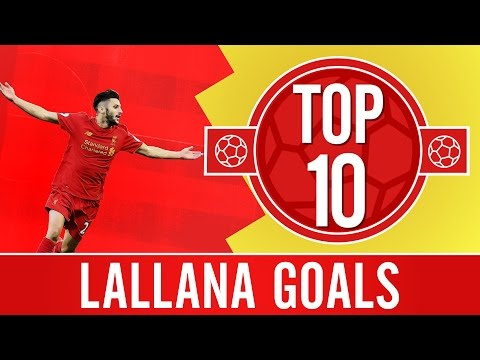 TOP 10: Adam Lallana's best Premier League goals