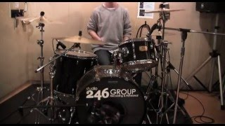 BRADIOの「FUNKASISTA」をドラムで叩いてみました。 普段はこんなバンド...