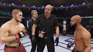 Khabib vs. Mighty Mouse (EA Sports UFC 3) - CPU vs. CPU