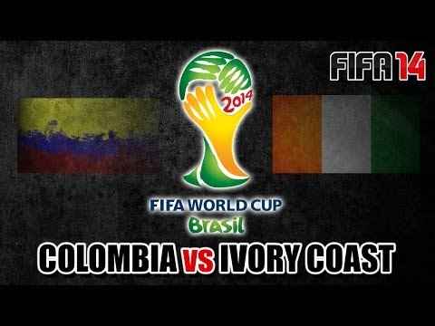 "FIFA 14 | ""Colombia v Ivory Coast"" - 2014 World Cup (Group C Match) [PS4 Gameplay]"