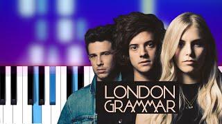 London Grammar - Baby It's You (Piano Tutorial)
