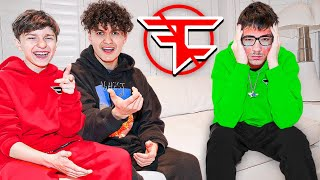 KICKING FAZE SWAY FROM FAZE PRANK (16 Year Old)