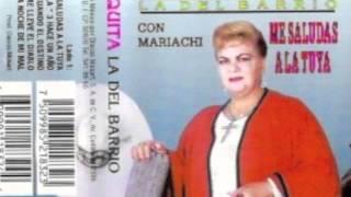 """Paquita La Del Barrio  """"No Vuelvo Amar"""""""