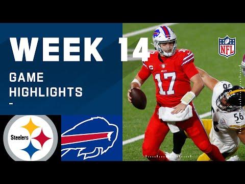 Steelers vs. Bills Week 14 Highlights | NFL 2020