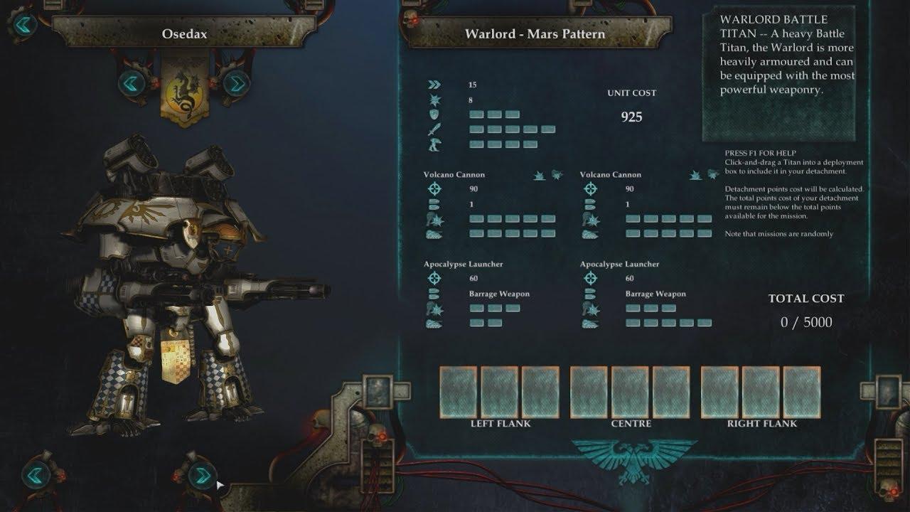 Adeptus Titanicus: Dominus Gameplay FIRST LOOK!