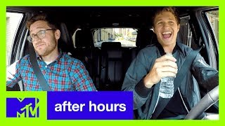 Baby Drivers Ansel Elgort Plays Carpool Kara--Oh God   After Hours  MTV