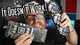 DO NOT Aftermarket Cooler your Radeon 5700xt!