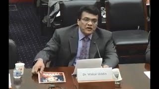 Dr. Wakar Uddin in US Congress Foreign Affairs Asia Sub-committee