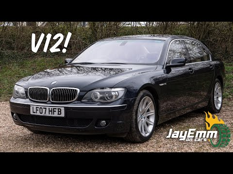 ULTIMATE LUXURY For £10,000! The Incredible 2007 V12 BMW 760LI Review