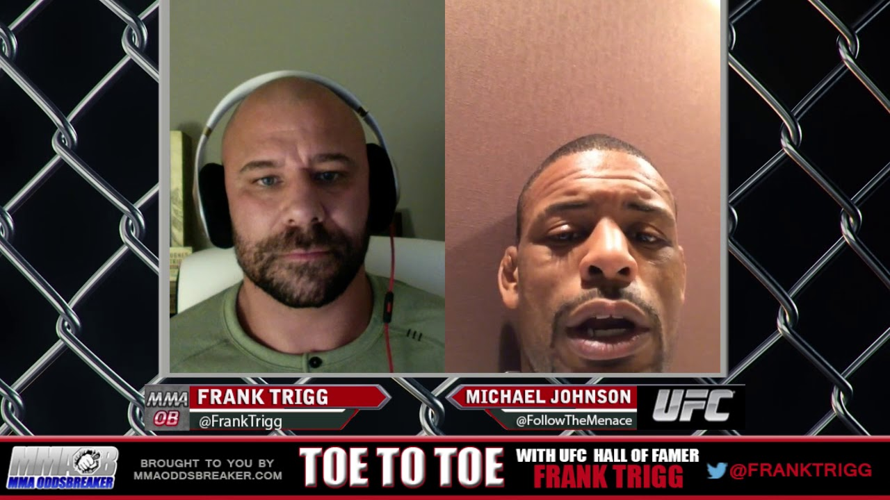 Frank Trigg pre-fight interview with UFC St Louis' Michael Johnson