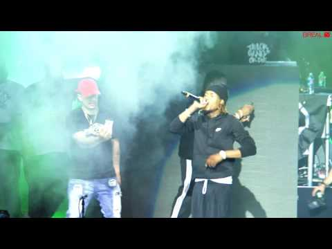 "Fetty Wap Live   ""Trap Queen"" Mt  Kushmore Concert 