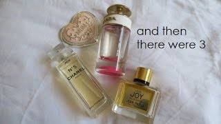 Hoarder to Minimalist? Perfume Chat and a bit of Whinging
