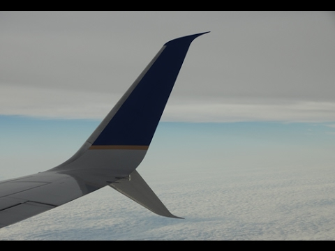United Airlines B737-800(SWL) Houston - Orlando [FULL FLIGHT