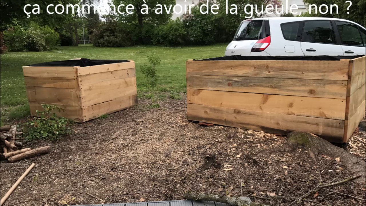 Mon potager sur lev youtube for Potagers sureleves