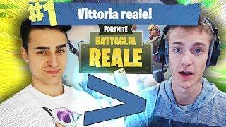 DIVENTARE FORTI, come Ninja, SU FORTNITE! Vittoria reale. | Fortnite Battle Royale PC PS4 Mobile