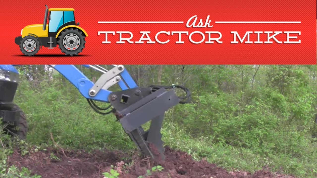 Tree Puller Attachment For Skid Steer