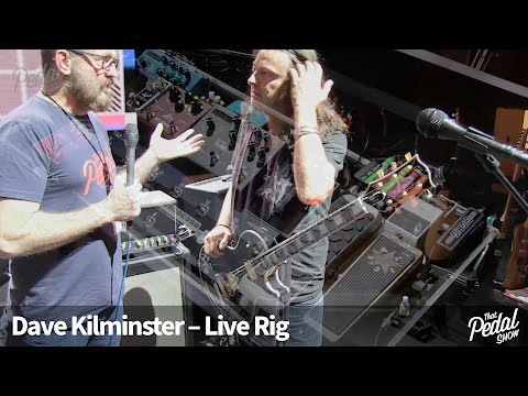That Pedal Show – Dave Kilminster's Live Rig With Steven Wilson, 2016