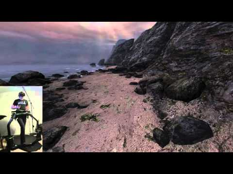 Dear Esther in VR with the Virtuix Omni