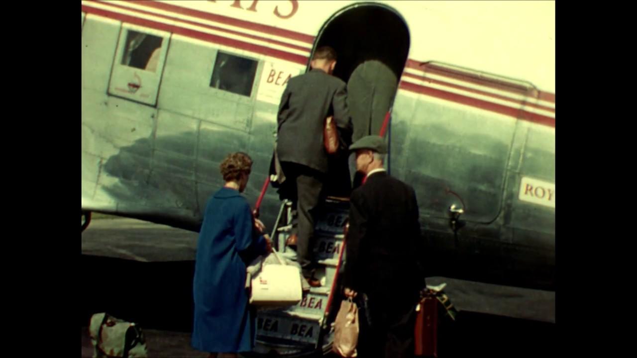 wholesale dealer c6ace f927b BEA DC-3 Flight, Jersey to Southampton and back, 1960.