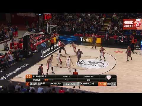 7DAYS Magic Moment Cory Jefferson Dunk, AX Armani Exchange Olimpia Milan