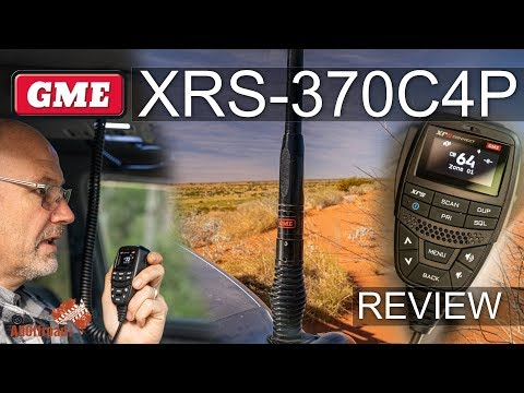 GME XRS 370 UHF Radio + AE4704B 2.1 And AW4705B4P 6.6 Antenanna Review - The Ultimate UHF For 4wd?