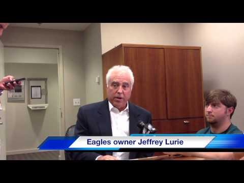 Eagles Owner Jeffrey Lurie