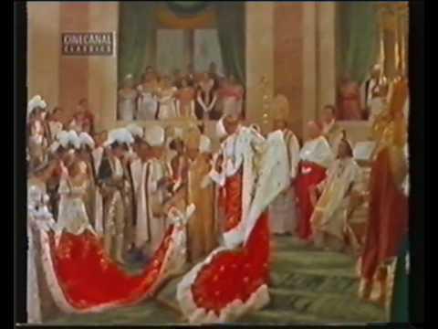 Napoleon el esplencdor con Brando  y el ocaso con Clavier