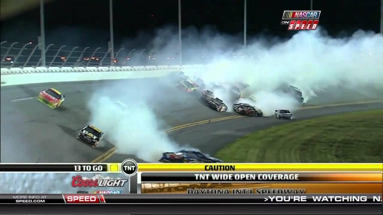Top 10 NASCAR Crashes - YouTube