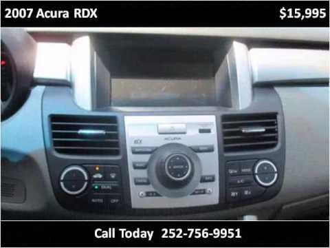2007 acura rdx used cars greenville nc youtube. Black Bedroom Furniture Sets. Home Design Ideas
