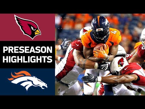 Cardinals vs. Broncos | NFL Preseason Week 4 Game Highlights