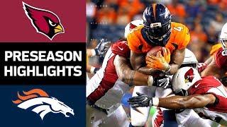 Cardinals vs. Broncos | NFL Preseason Week 4 Game Highlights