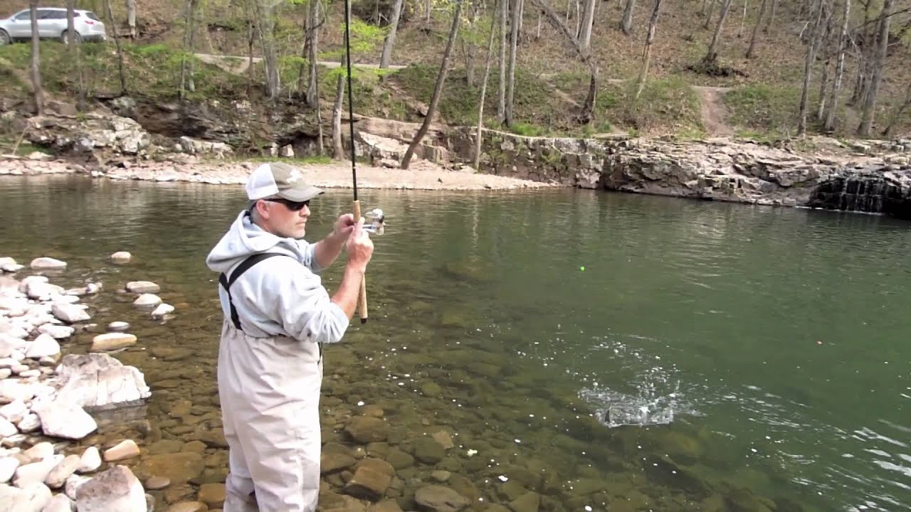 Trout Fishing West Virginia S Elk River Youtube