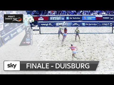 Das Frauen-Finale in voller Länge | Duisburg - smart beach tour 2017
