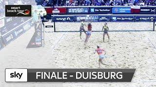 Das Frauen-Finale in voller Länge | Duisburg - smart beach tour 2017