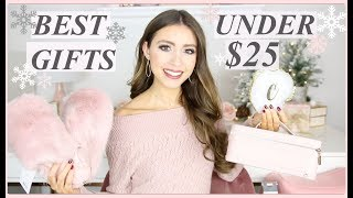 Best Christmas Gifts For Her Under $25 | Holiday Gift Guide 2018